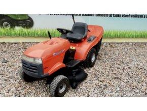 zahradní traktory husqvarna tc 139t oranžové barvy u plachty traktory kolín