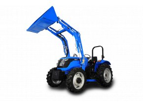 zemědělský traktor solis rx 50 modré barvy