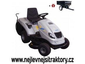 zahradní traktor karsit k13/92h maxi cut stříbrné barvy
