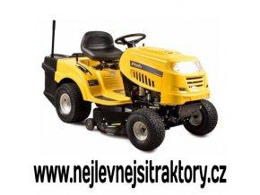 zahradní traktor riwall pro rlt 92 t žluté barvy s velkými koly
