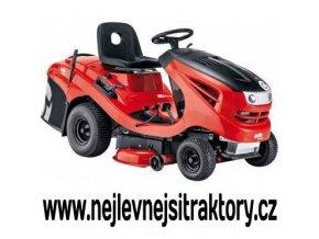 zahradní traktory al-ko t 13-103,7 hd v2 červené barvy s černou kapotou a velkými koly