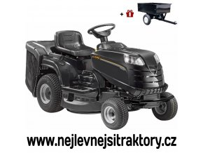 zahradni traktor stiga alpina bt 84 hcb cerne barvy s velkymi koly