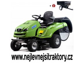 zahradní traktor karsit 22/102hx cut zelené barvy