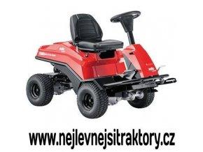 zahradní traktor al-ko fc 13 90.5 hd 4 wd červené barvy s předním sečením