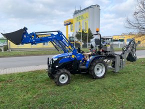 podkop k traktoru