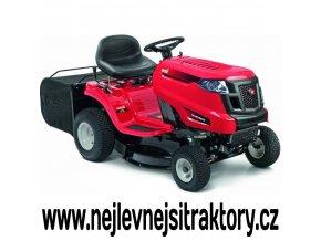 zahradní traktor mtd smart rc 125 červené barvy se zadním výhozem