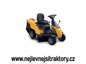 zahradní traktor stiga combi 1066 hq žluté barvy s menšími koly