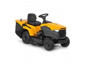 zahradní traktor stiga estate 3098 h žluté barvy s velkými koly verze 2020