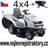 zahradní traktor karsit 22/102h 4wd cut stříbrné barvy
