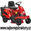 zahradní traktor al ko r 7 63.8 a červen barvy s předním sečením