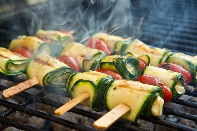 Vegetariánské tipy na gril