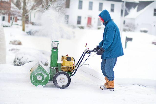 Jak na odhrnování sněhu bez starostí