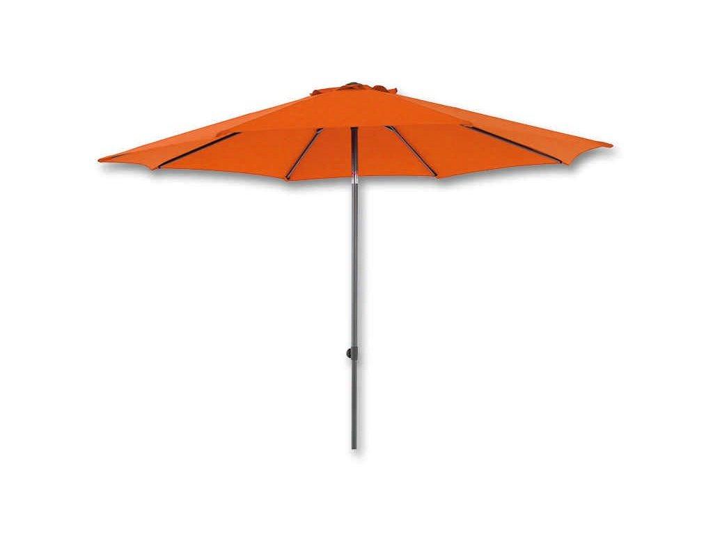 ABC Kovový slunečník Djerba 180 cm oranžový