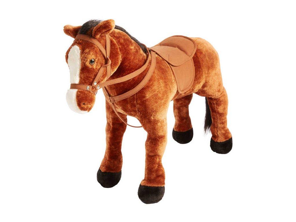 KidLand sedací kůň se zvukem Bonnie hnědý