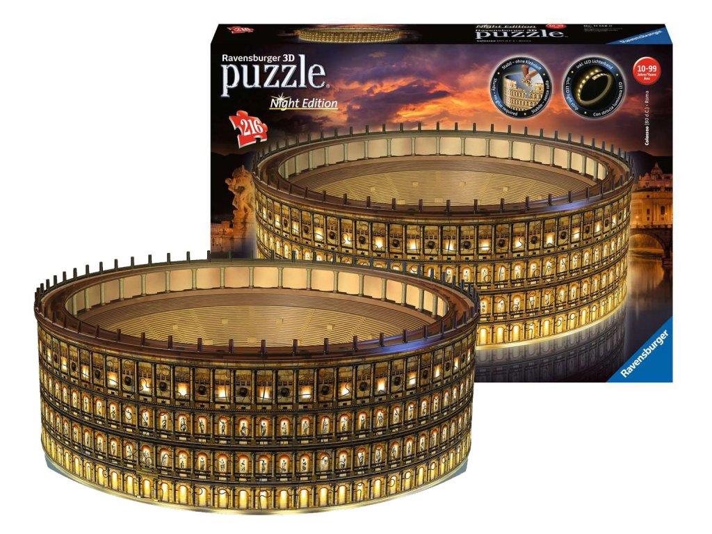 Ravensburger 3D puzzle svítící Koloseum 216 ks