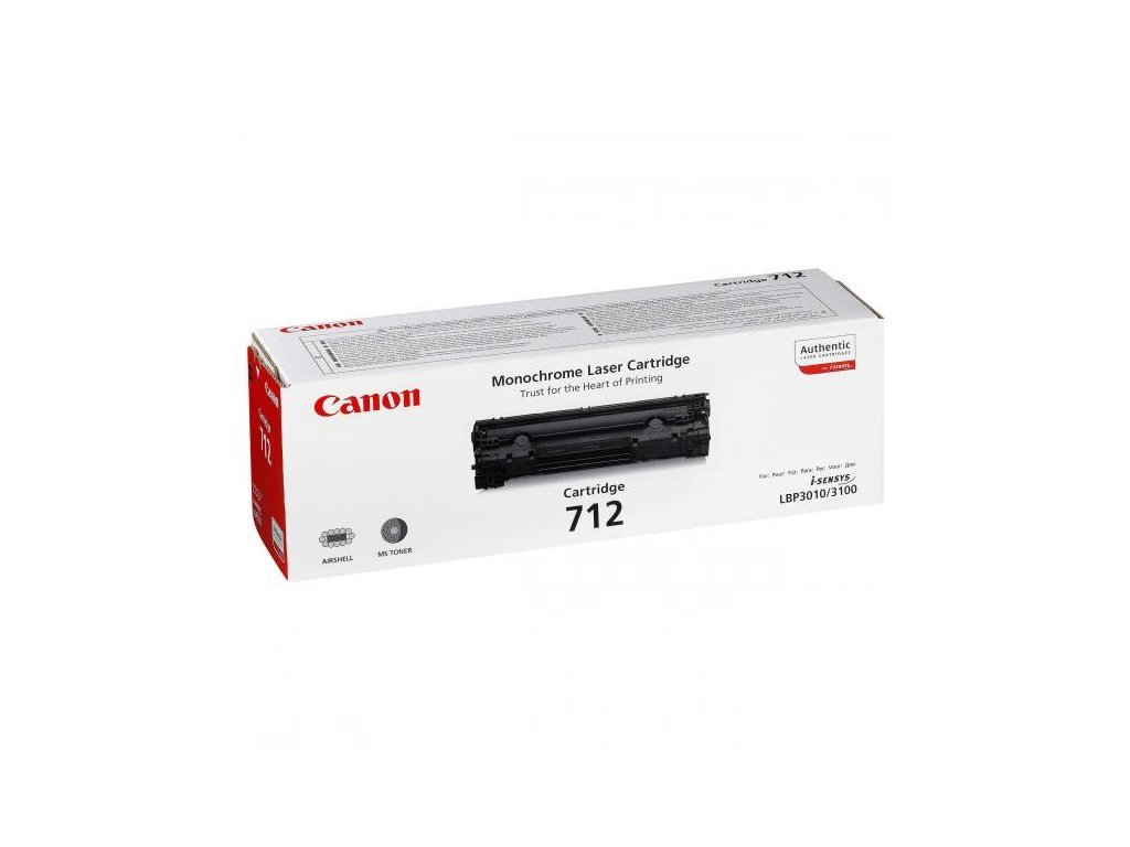 Canon CRG 712Bk originální