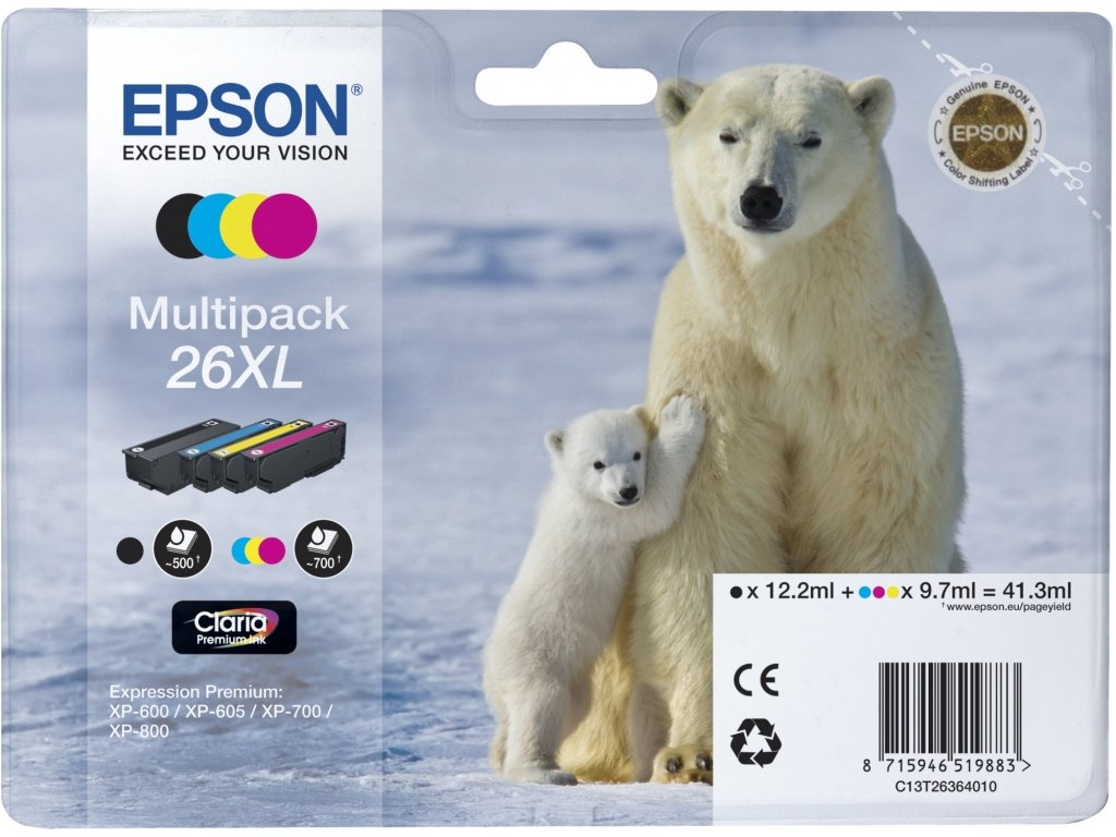 Epson T2636 (C13T26364020) originální