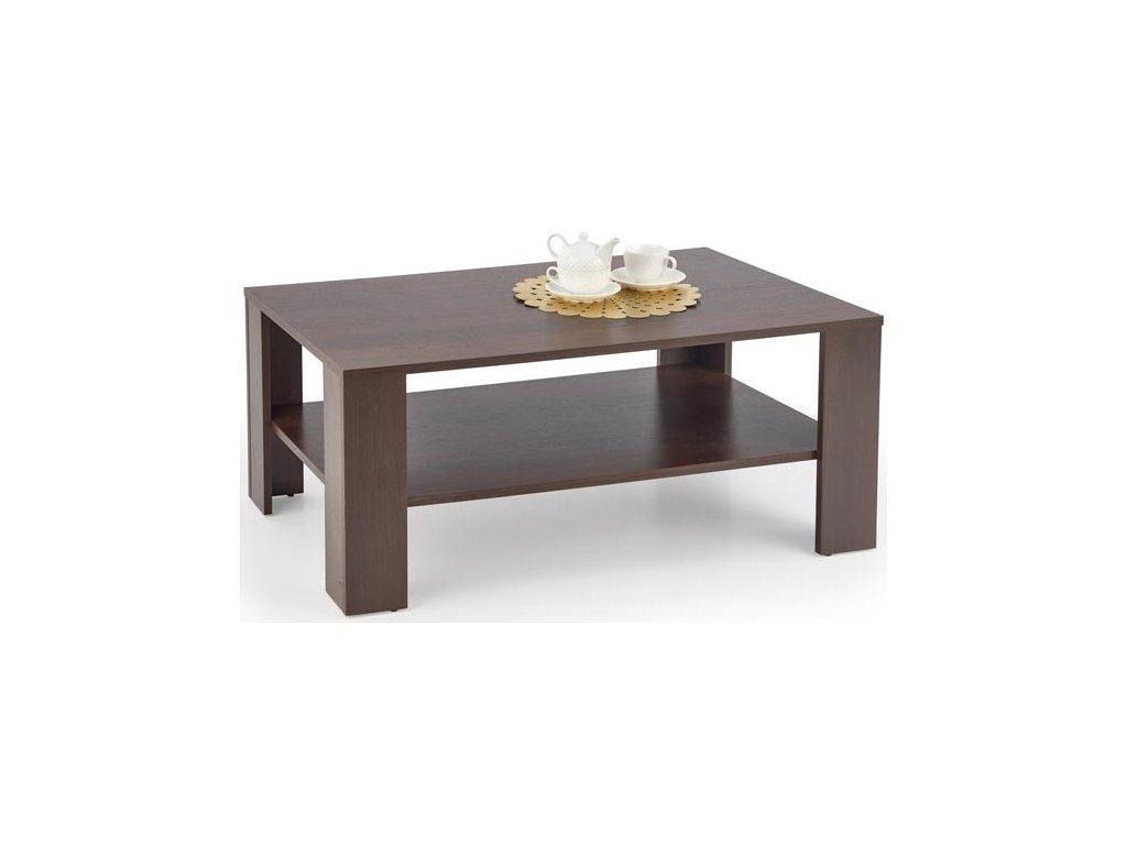 Halmar Konferenční stolek Kwadro tmavý ořech