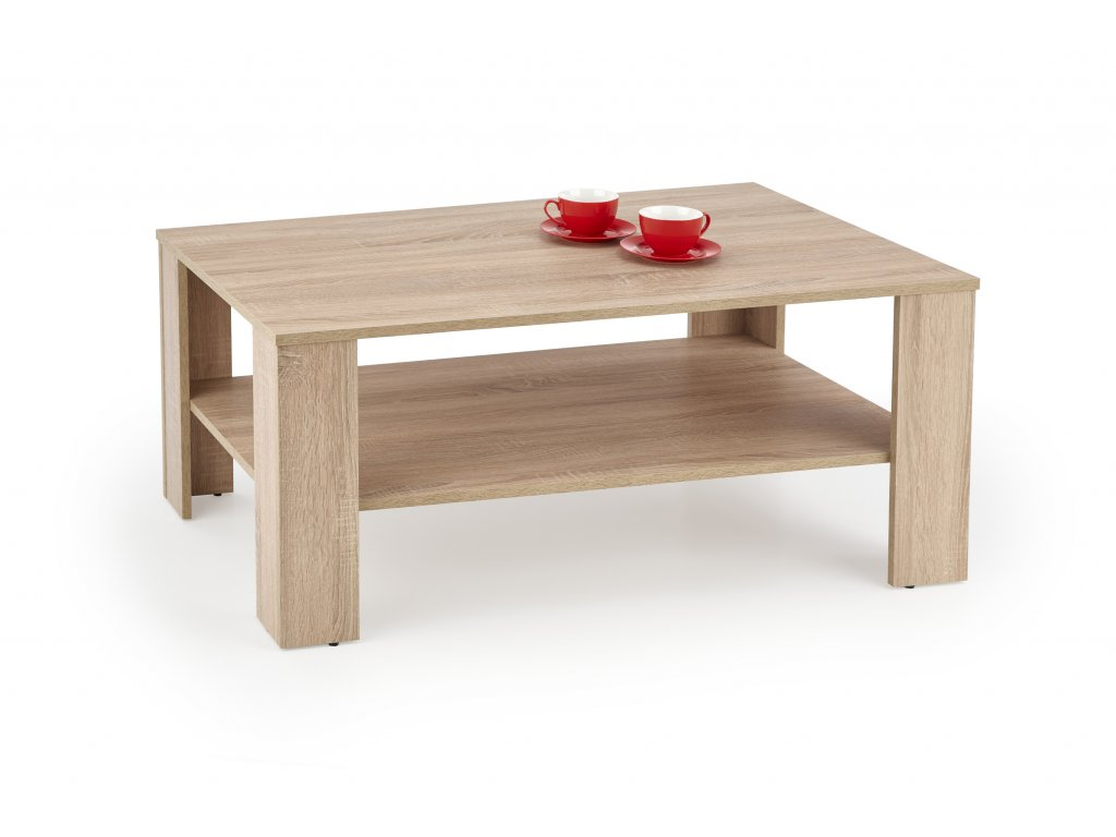 HALMAR Konferenční stolek Kwadro dub sonoma