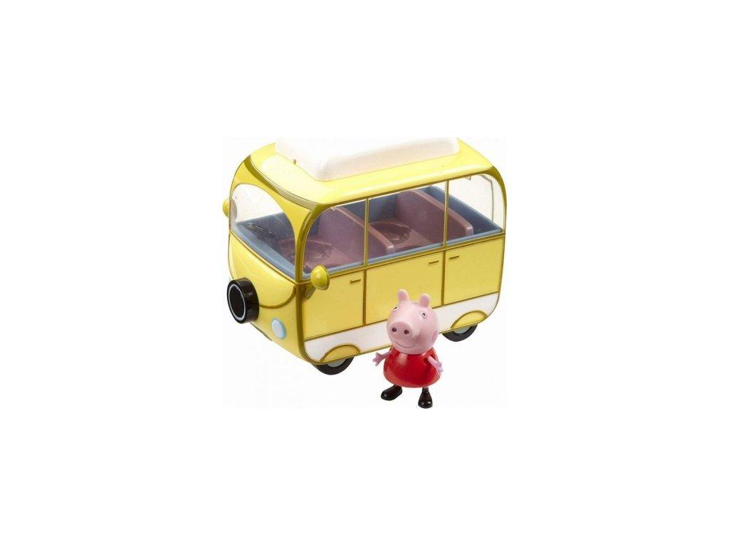 TM Toys Prasátko PEPPA karavan s 1 figurkou 06060