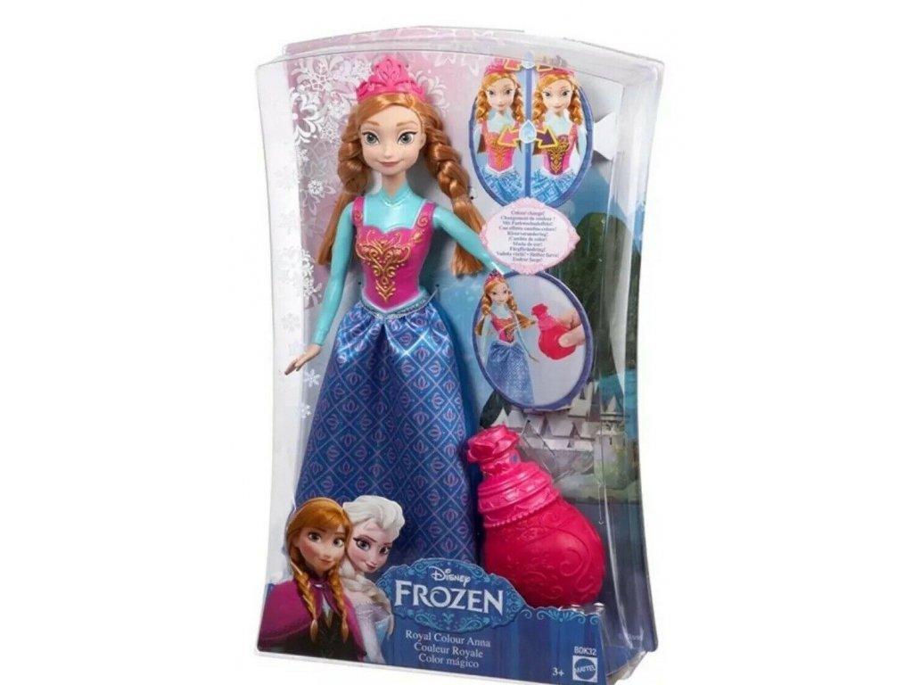 Matttel Disney panenka Frozen Ledové Království ANNA a kouzelný parfém BDK32 3