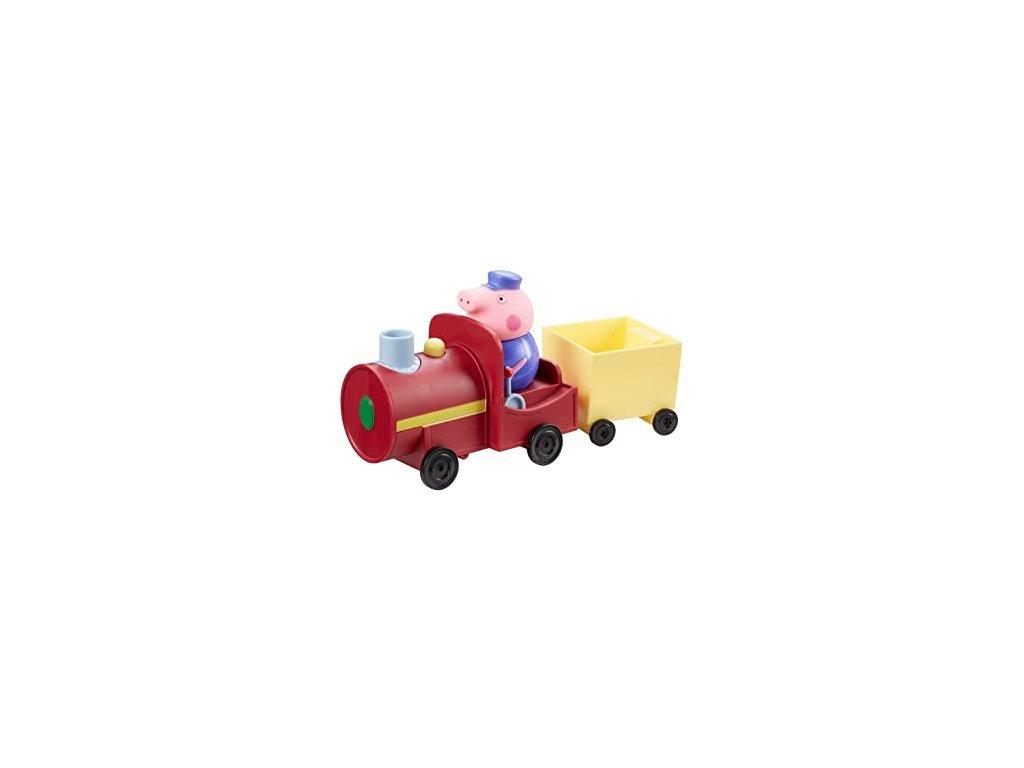 TM Toys Prasátko Peppa Pig vláček + figurka s vagonem