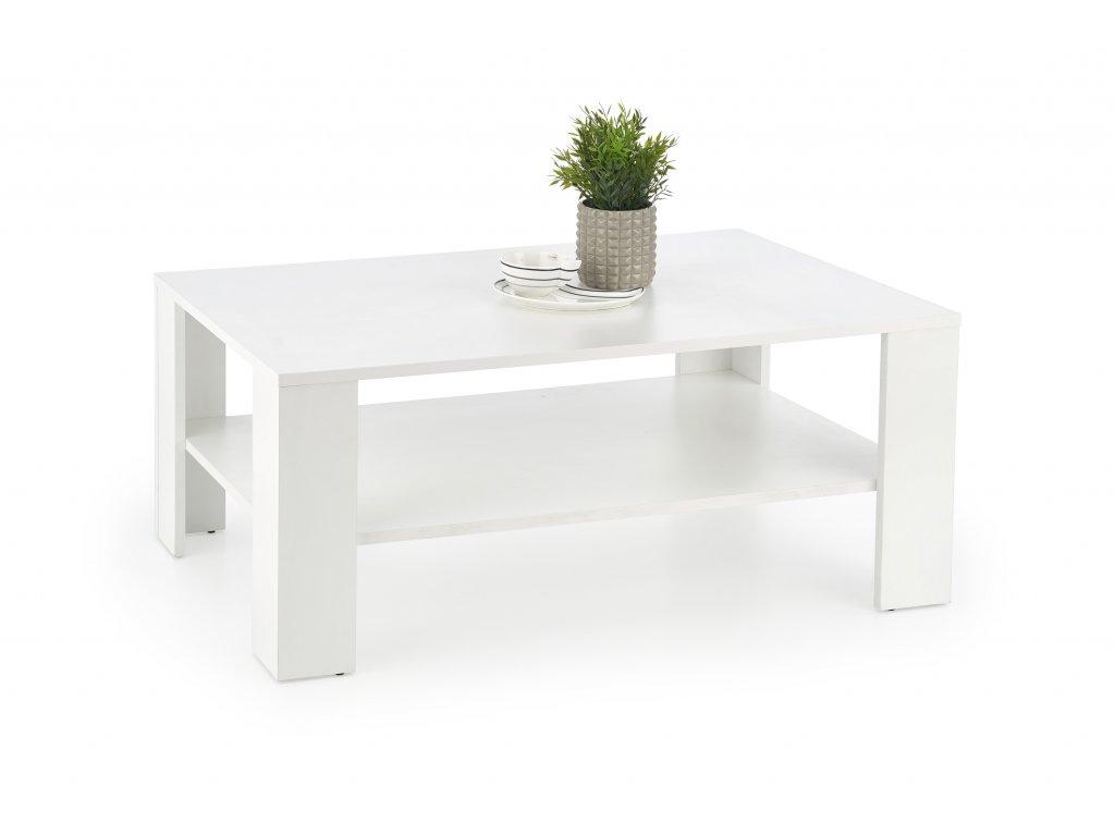 Halmar Konferenční stolek Kwadro bílý 1