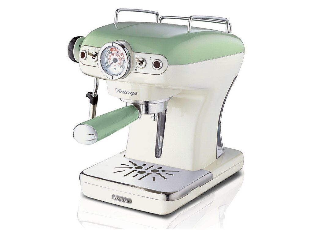 Espresso retro kávovar Ariete Scarlett 1389 zelený
