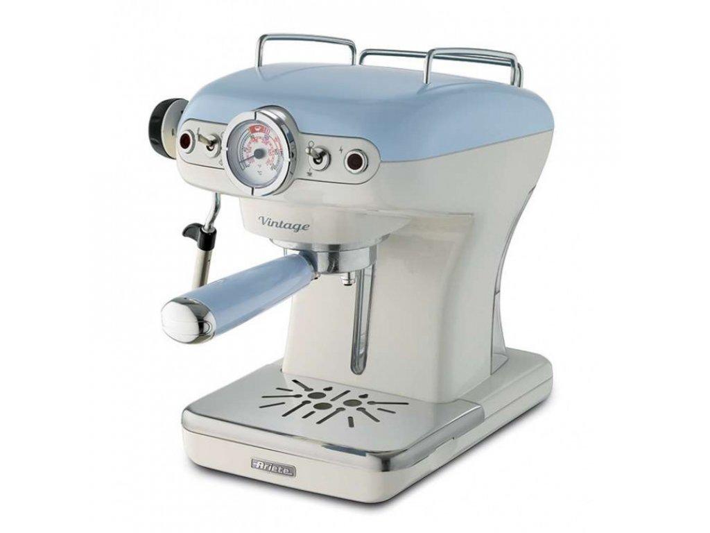 Espresso retro kávovar Ariete Scarlett 1389 modrý