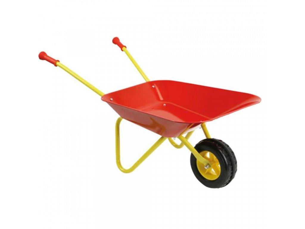 Rolly Toys kolečko na zahradu červené