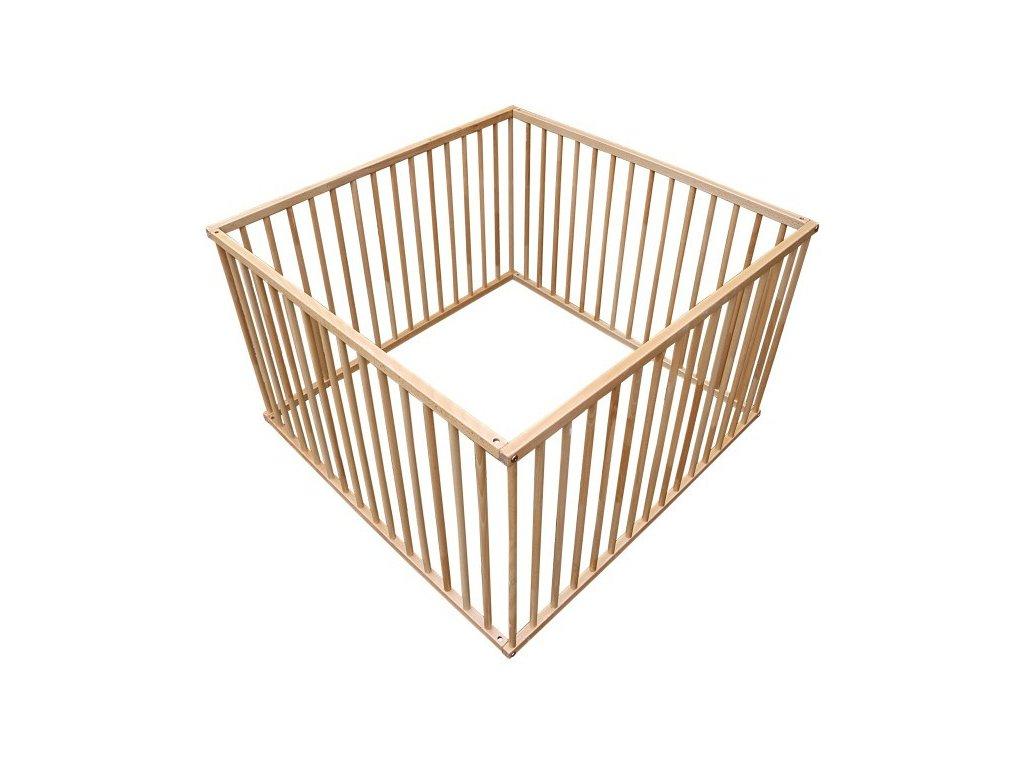 Cosing dřevěná ohrádka pro děti buk 100 x 100 cm
