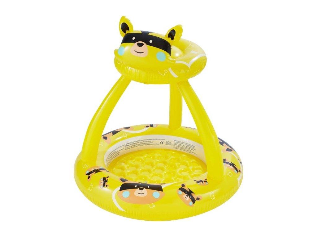 Kuniboo 610119 Dětský bazének se stříškou 100 x 95 cm