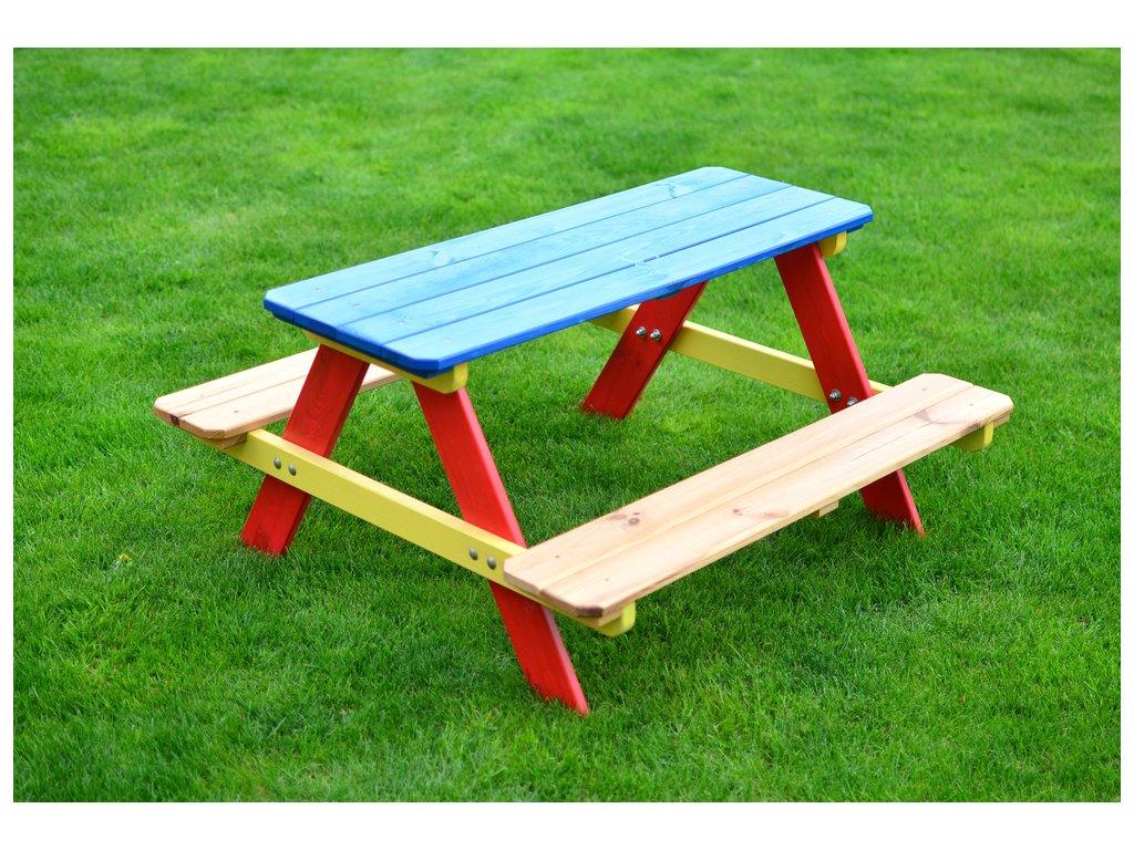 Rojaplast Dětský set Piknik barevný