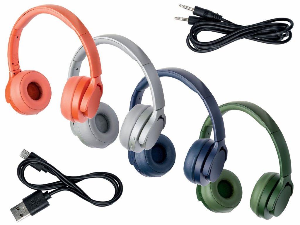 Bezdrátová sluchátka Silvercrest SBK 40 A1