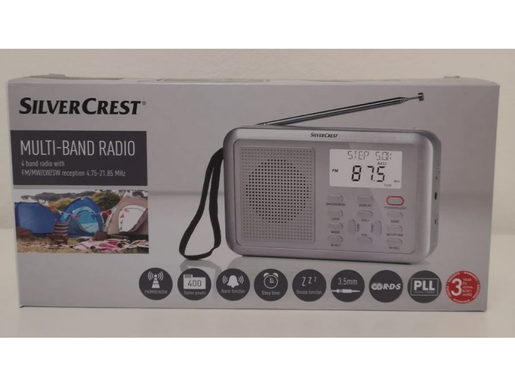 Radiopřijímač SilverCrest SWDR 500