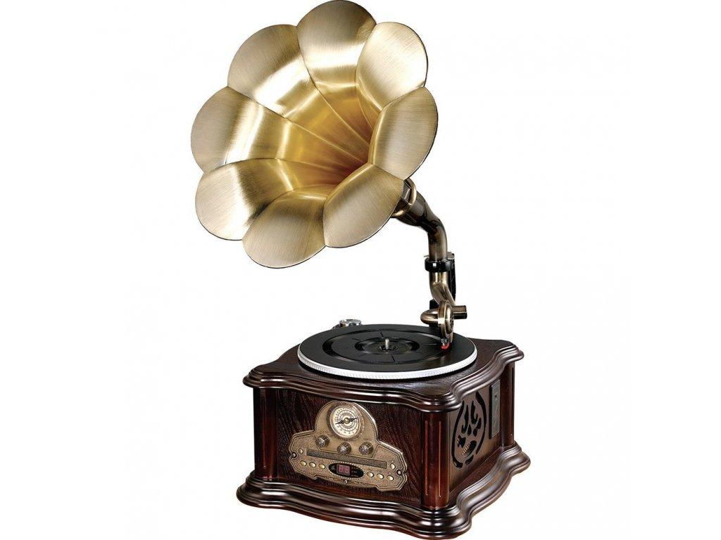 Platinium Retro gramofon s CD RP 013C