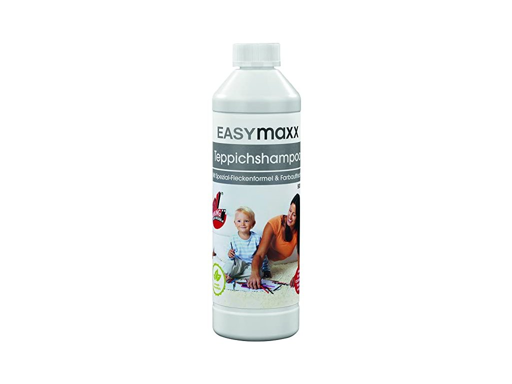 EASYmaxx Teppichshampoo šampon na koberce pro strojové čištění CleanMaxx