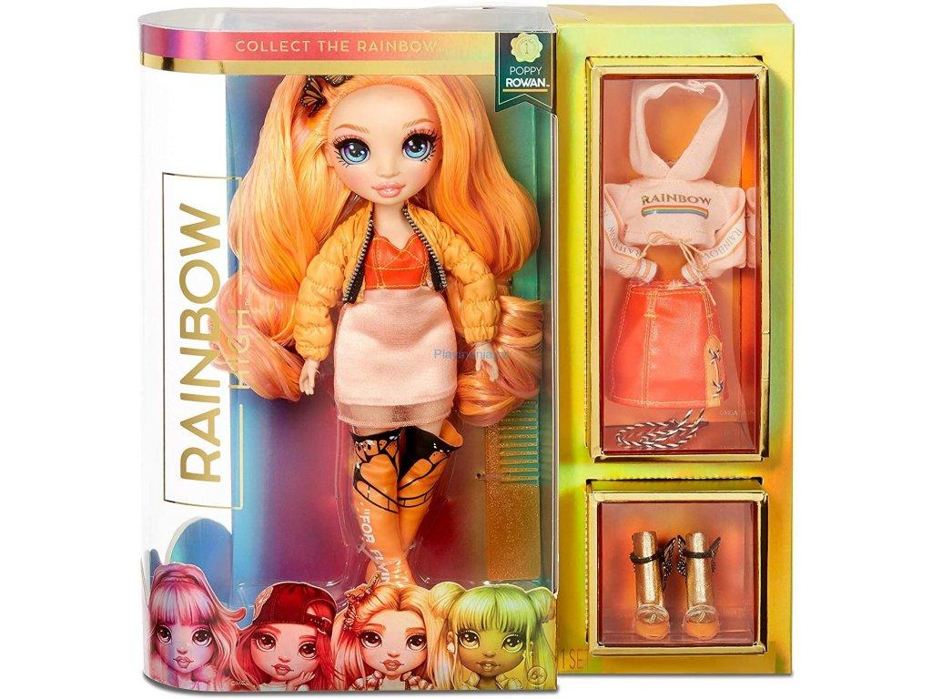 Rainbow High Fashion Panenka Poppy Rowan