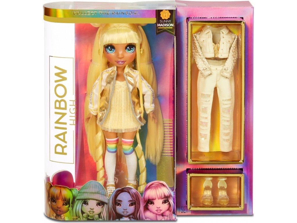 MGA Rainbow High Fashion panenka Sunny Madison