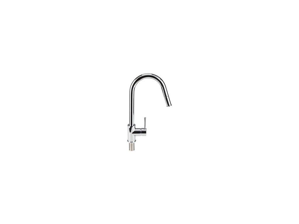Miomare 331542 Kuchyňská baterie s výsuvnou sprchou (kulatá) 1