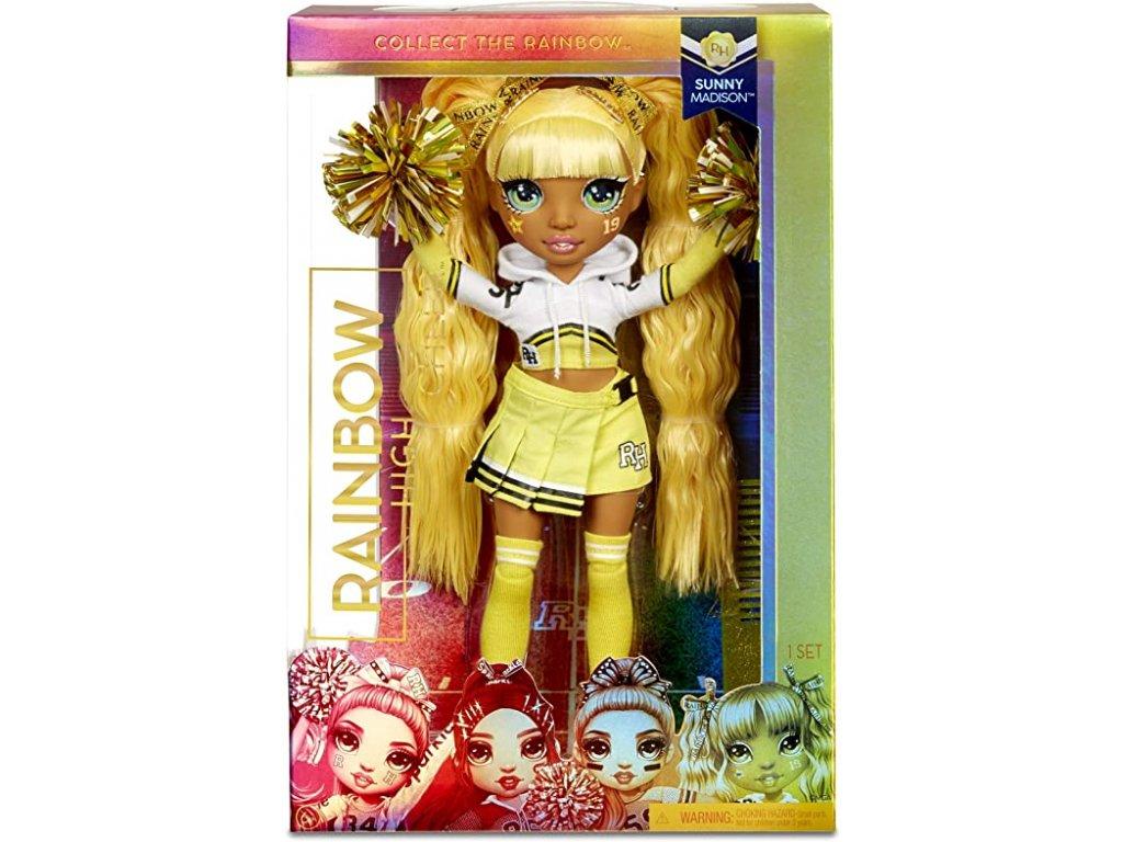 MGA Rainbow High roztleskávačka panenka Sunny Madison 28 cm 1