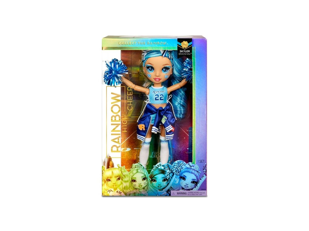 MGA Rainbow High roztleskávačka panenka Skyler Bradshaw 28 cm 1