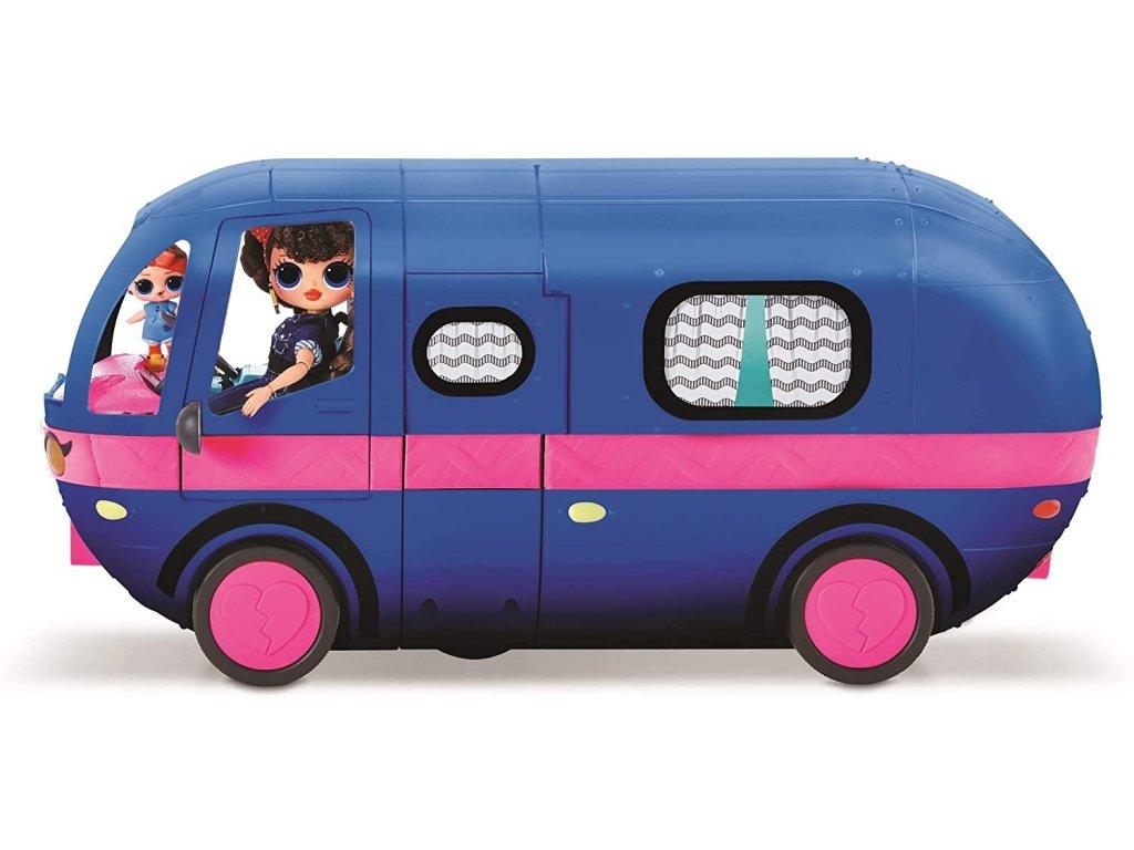 MGA LOL Surprise Glamper karavan modrý OMG 4v1