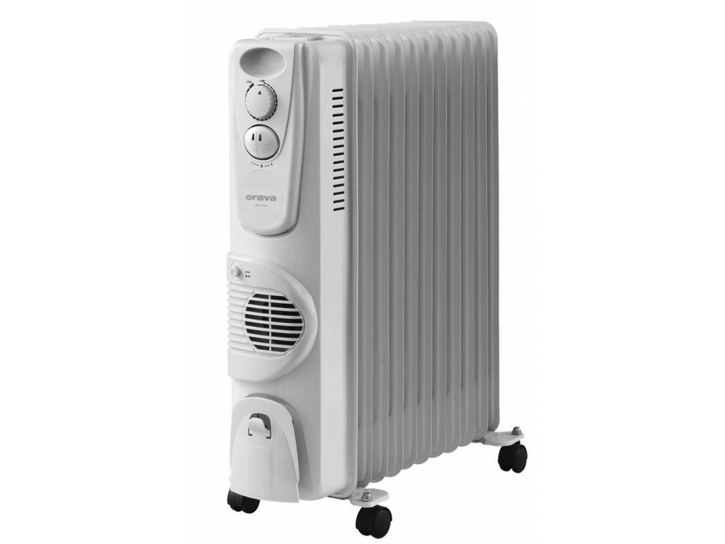 Orava Elektrický olejový radiátor s ventilátorem OH 11 A