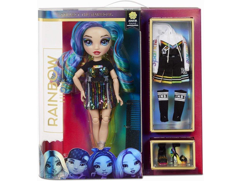 MGA Rainbow High Fashion panenka Amaya Raine