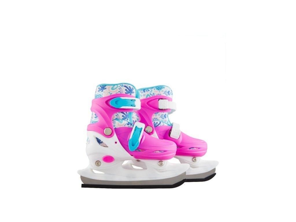 UM Dětské rostoucí lední brusle dívčí 808547
