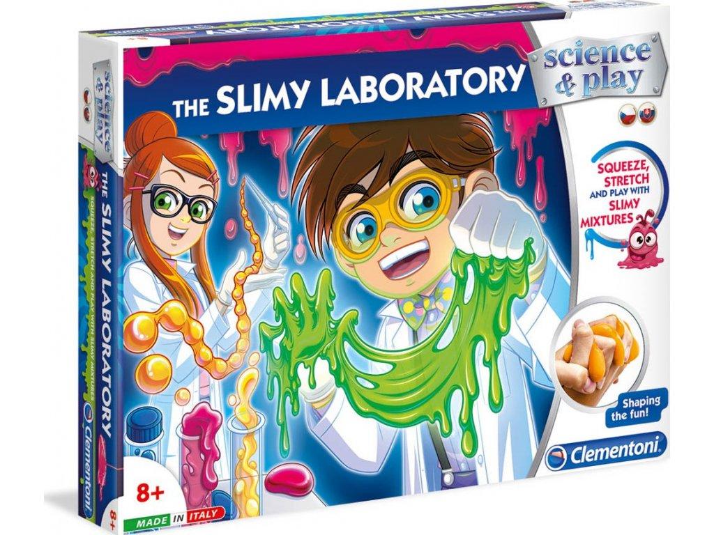 Clementoni Dětská laboratoř Výroba slizu