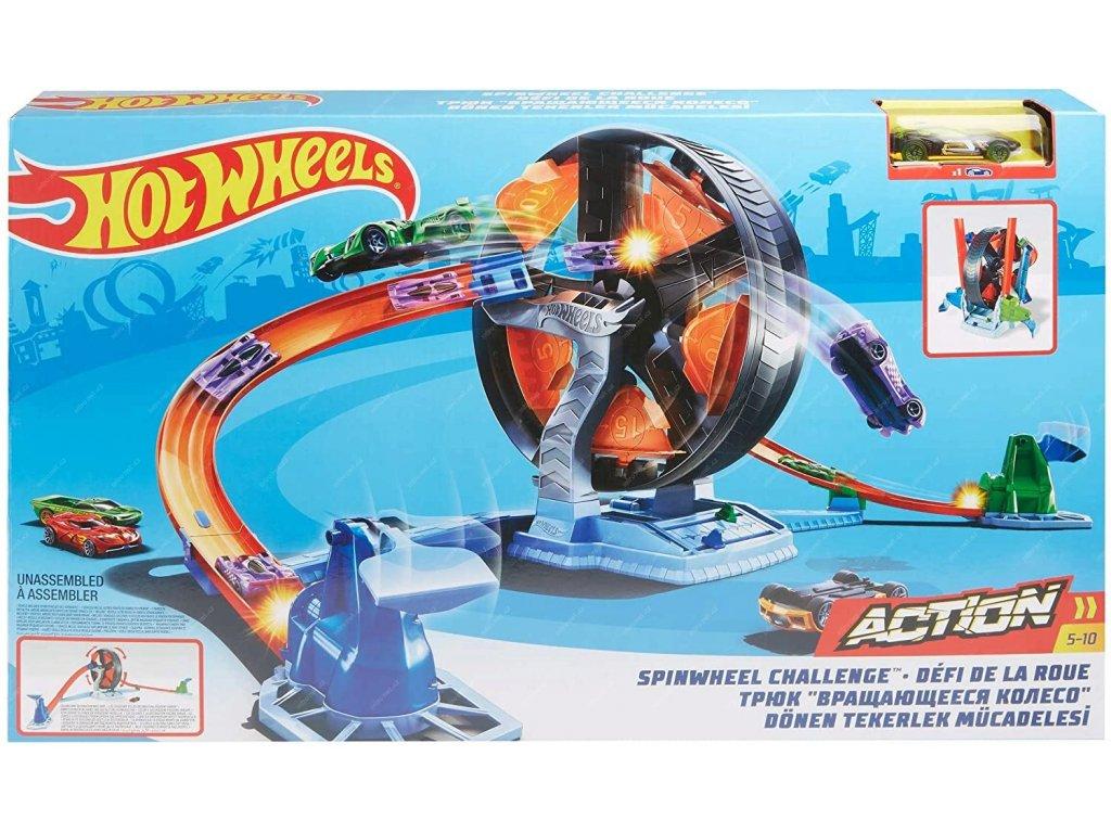 Hot Wheels Dráha kdo z koho