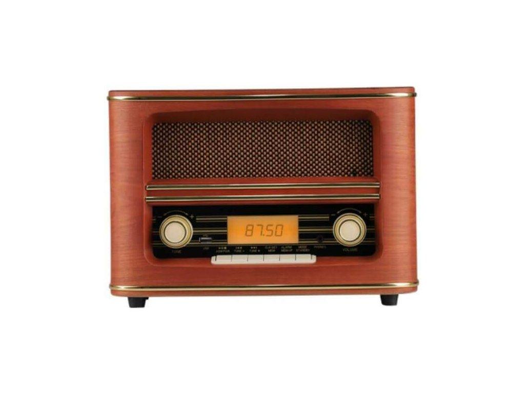 Retro radio s Bluetooth a USB Orava RR 55