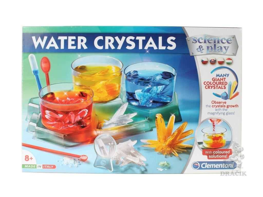 Clementoni Věda a hra Výroba vodních krystalů